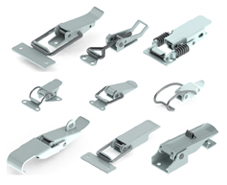 Steel Smith Latches Additional Locking Mechanism